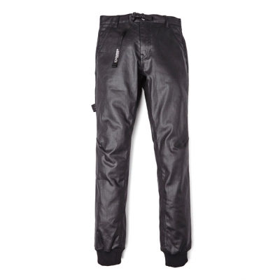 [PSLN] Coated Pant (Black) STEREO-SHOP