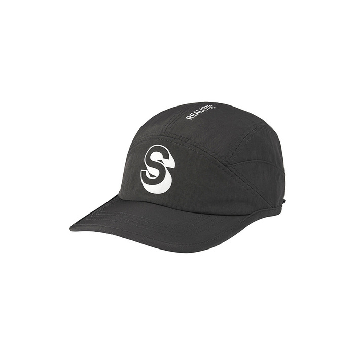 [AW16 Music] S Camp Cap(Black) 스테레오 바이널즈