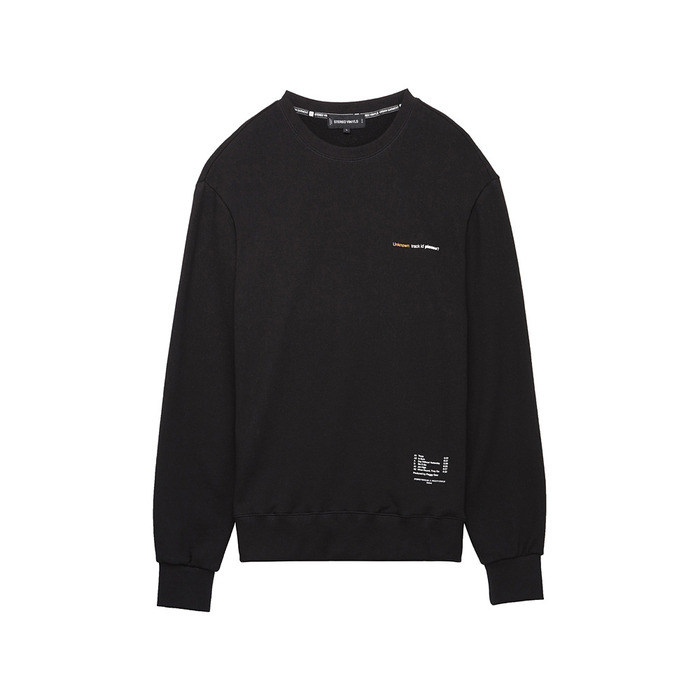 [AW16 Peggy] LP Sweatshirts(Black) STEREO-SHOP