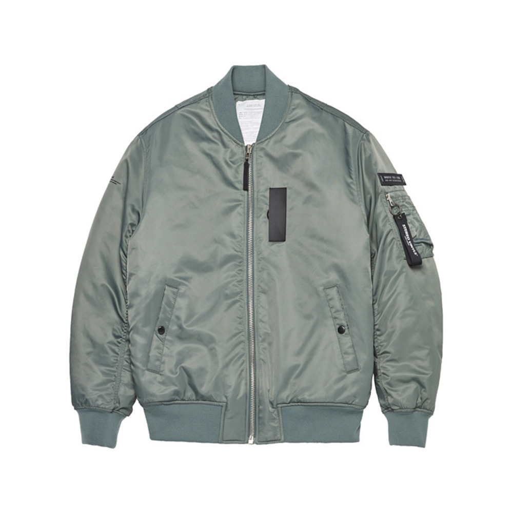 [AW16 Music] MA-1 Jacket(Khaki) STEREO-SHOP