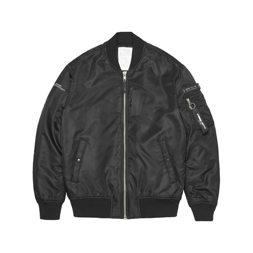 [AW16 Music] MA-1 Jacket(Black)