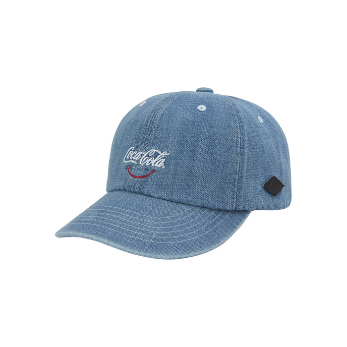 [CCC] 80s Smile 6P Ball Cap(BLUE) 스테레오 바이널즈