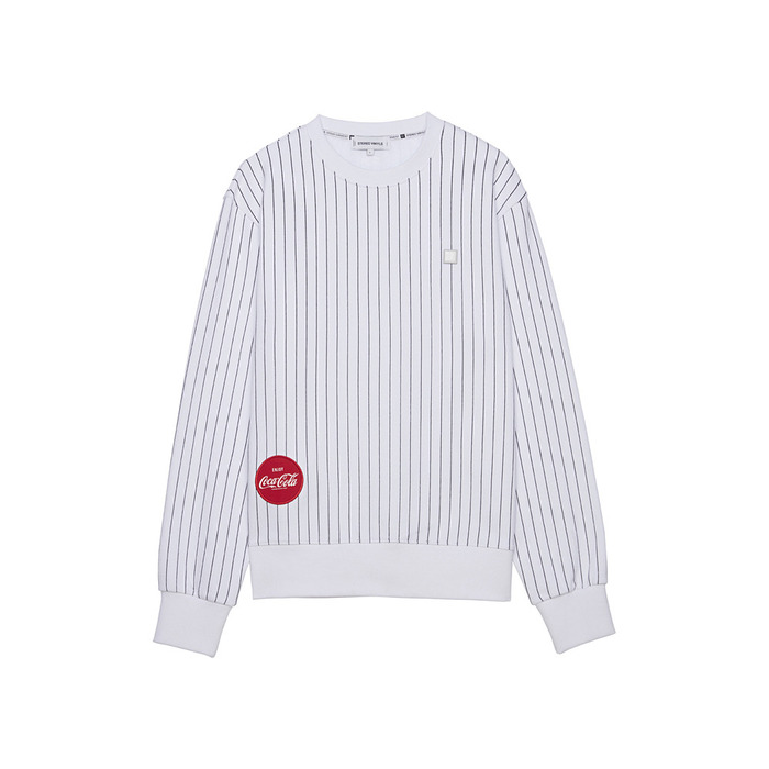 [CCC] Stripe Sweatshirt(WHITE)