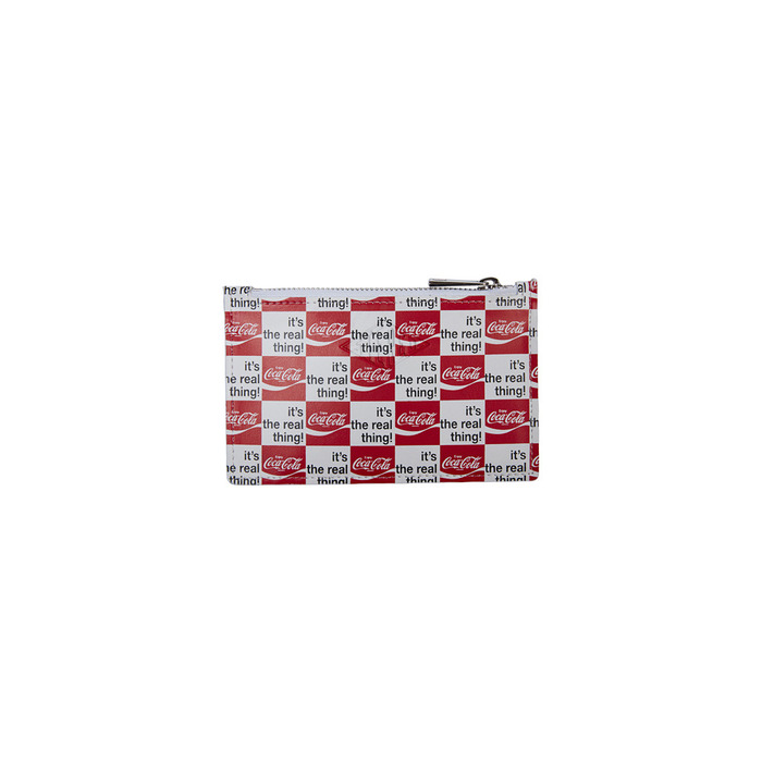 [CCC] Red/Heritage Card Wallet(WHITE) 스테레오 바이널즈