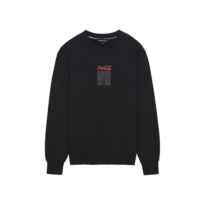 [CCC] Square Logo Sweatshirt(BLACK)