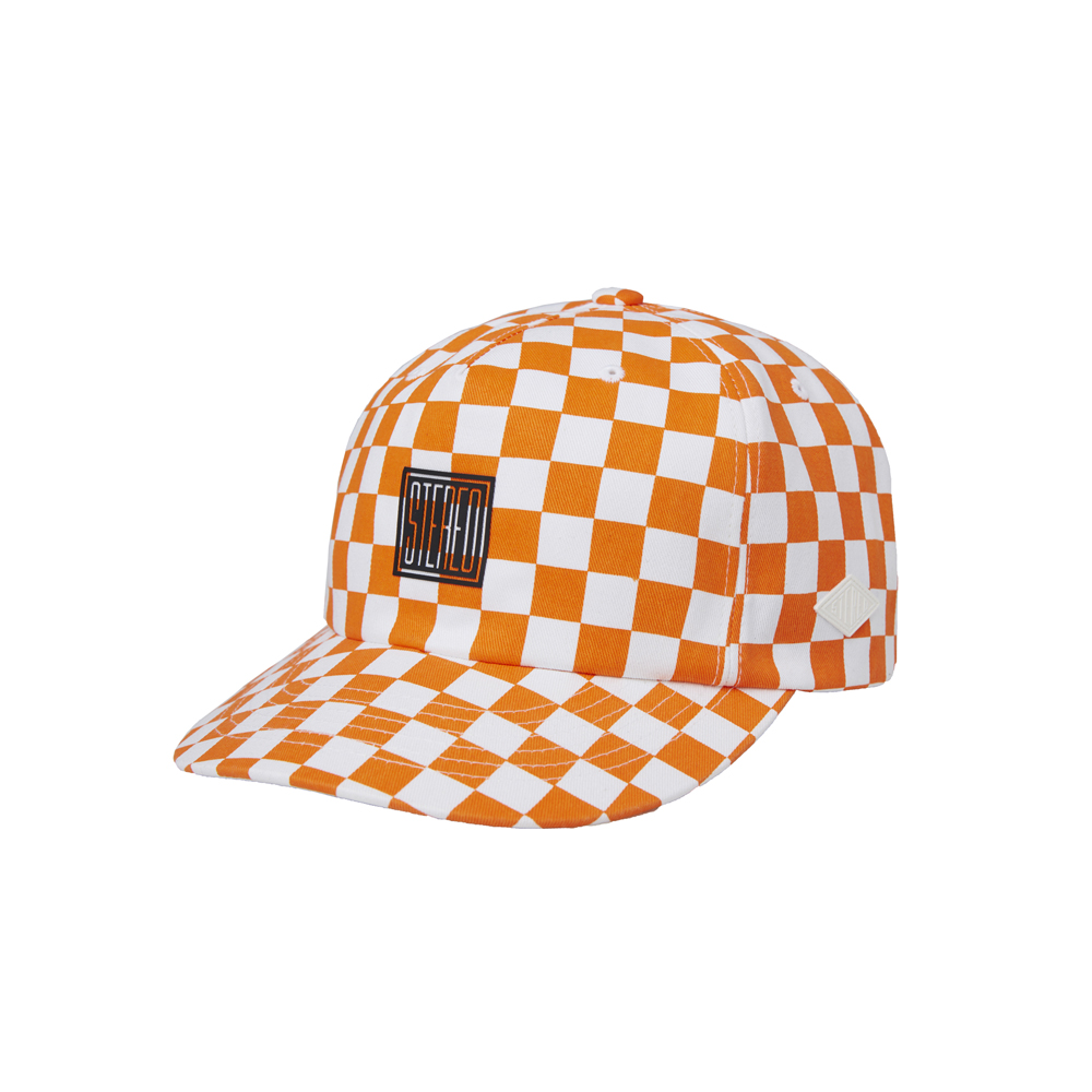 [AG] Scale 6P Ball Cap(ORANGE) 스테레오 바이널즈