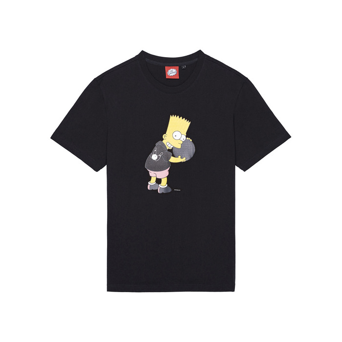 [SS16 Simpsons] Bowler Bart S/S Tee(BLACK) 스테레오 바이널즈