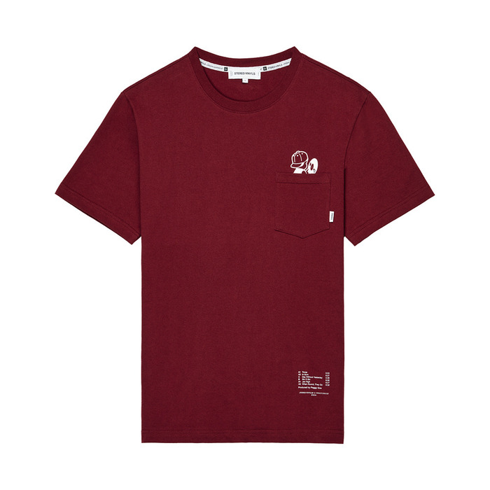 [AW16 Peggy] Peggy S/S Tee(Wine) STEREO-SHOP