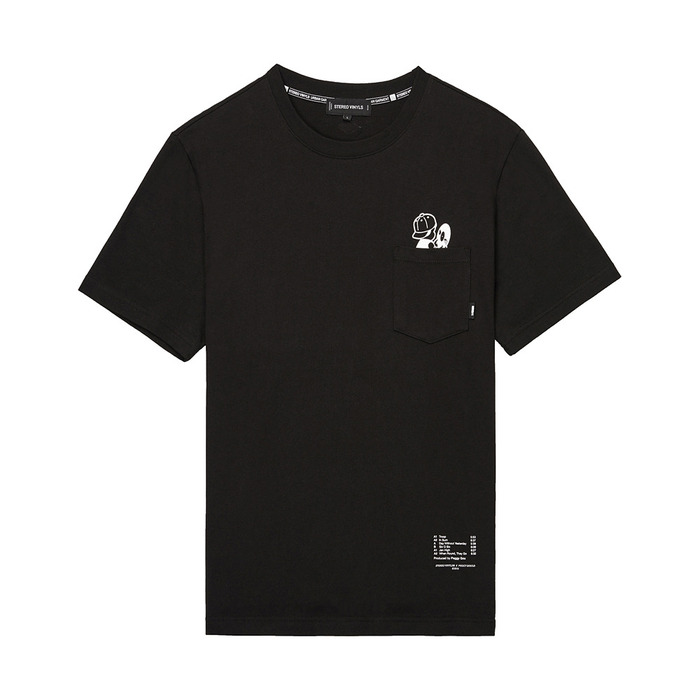 [AW16 Peggy] Peggy S/S Tee(Black) STEREO-SHOP