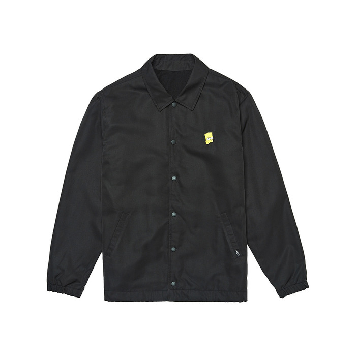 [AW16 Simpsons] Coach Jacket(Black) STEREO-SHOP