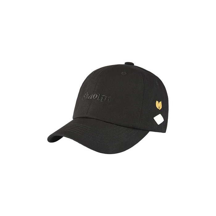 [AW16 WUTANG] Shaolin 6P Ball Cap(Black) STEREO-SHOP