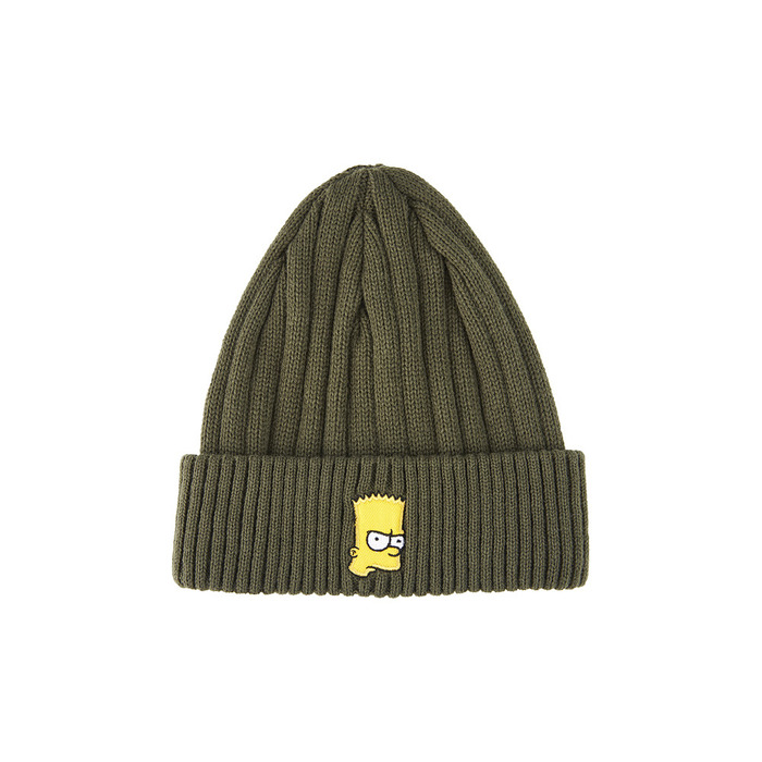 [AW16 Simpsons] Beanie(Khaki) STEREO-SHOP