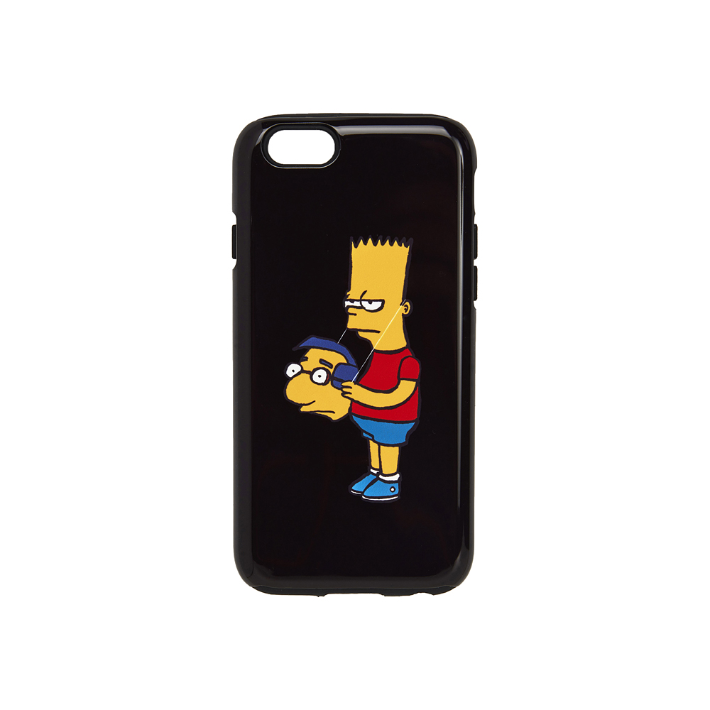 [AW16 JJ x SV] Bart iPhone 6/6S Case(Black) 스테레오 바이널즈