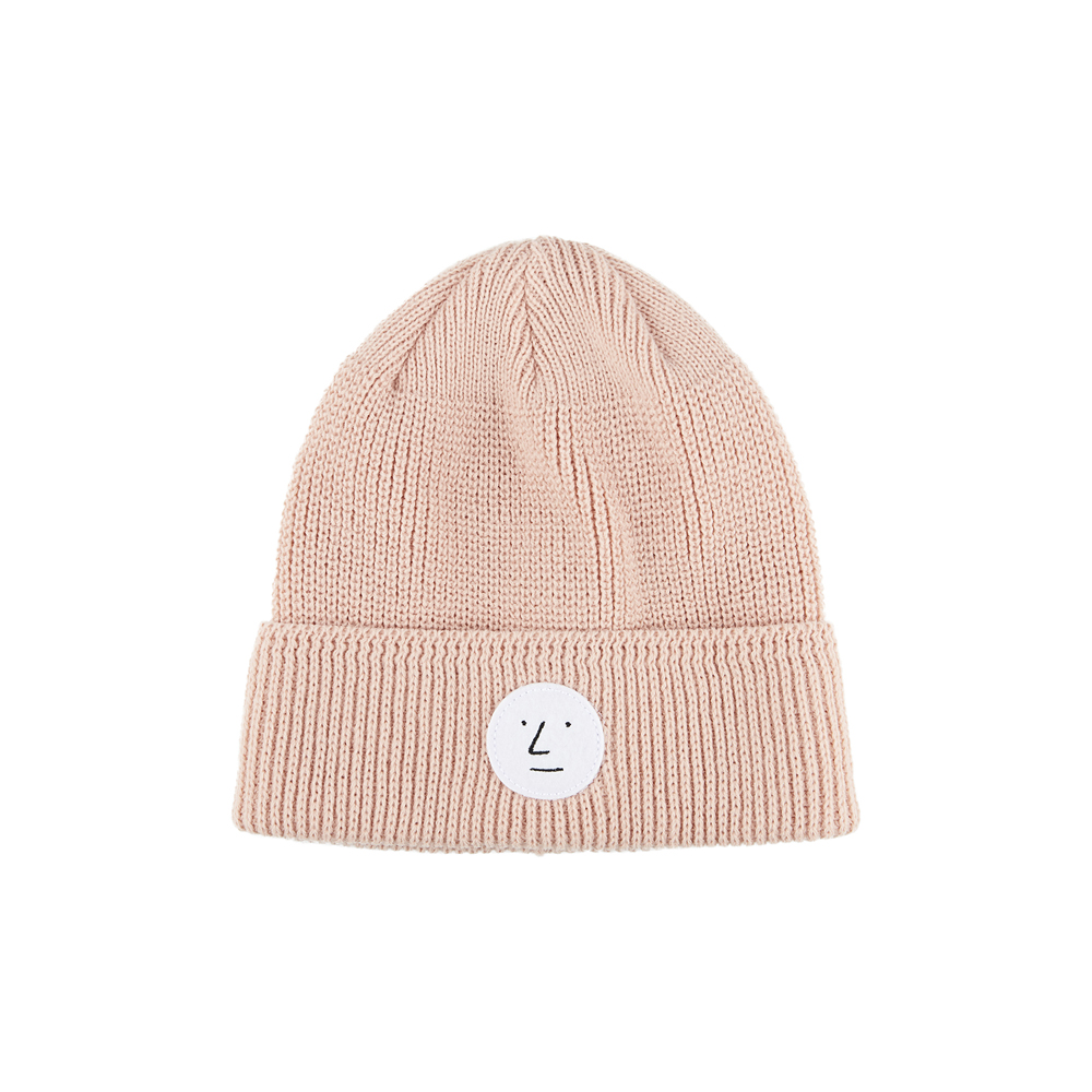 [AW16 JJ x SV] One Point Beanie(Pink) STEREO-SHOP