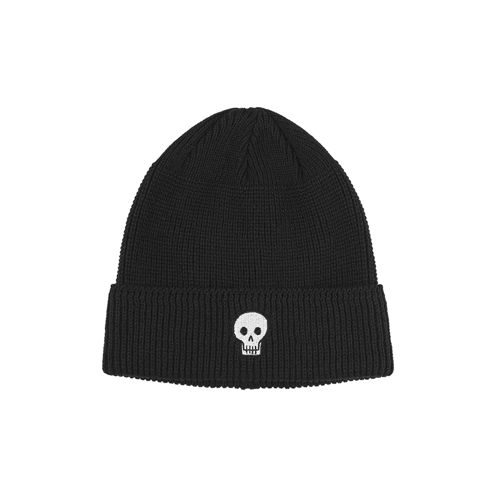 [AW16 JJ x SV] One Point Beanie(Black) 스테레오 바이널즈