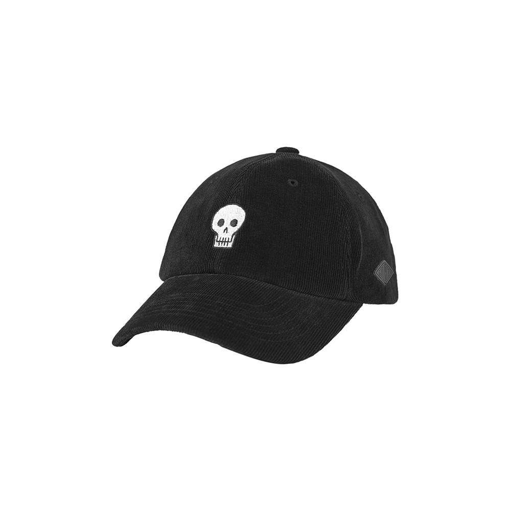 [AW16 JJ x SV] One Point Corduroy 6P Ball Cap(Black) 스테레오 바이널즈