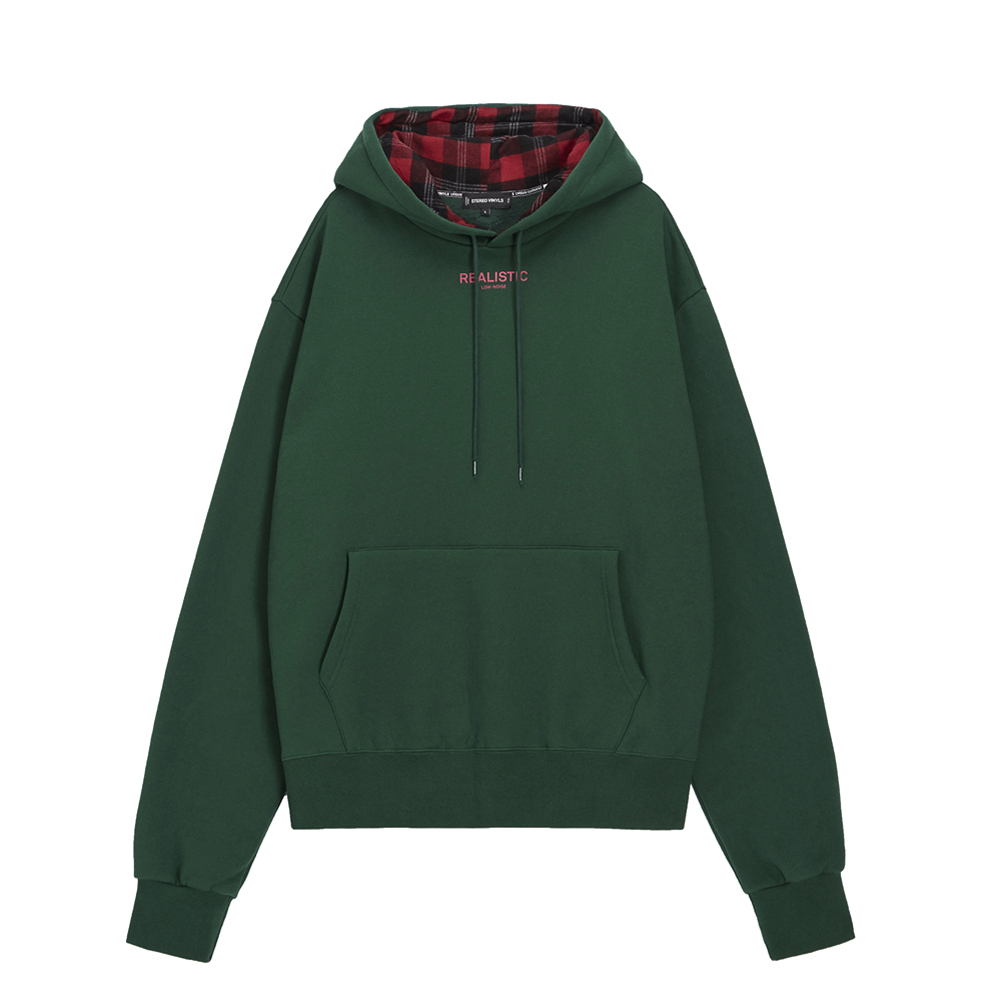 [AW16 Music] Realistic Oversized Hoodie(Green) STEREO-SHOP