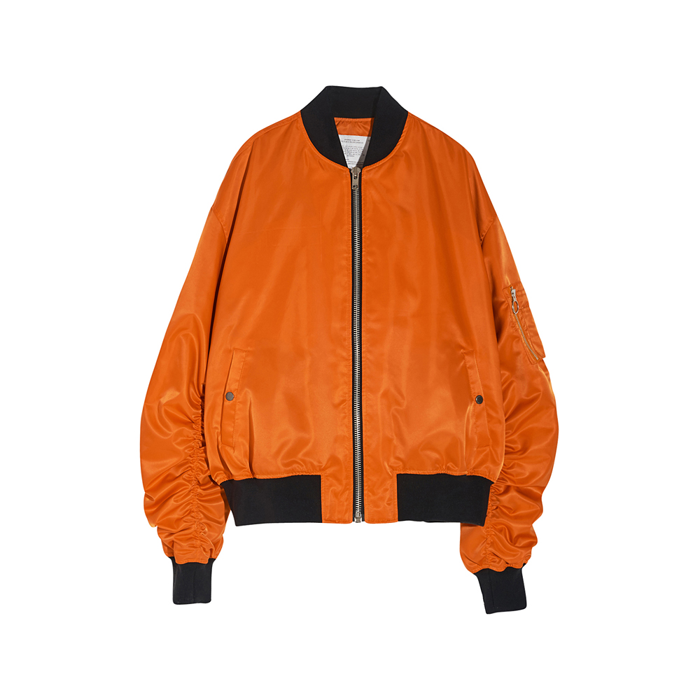[SS17 Colour] MA-1 Bomber Jacket(Orange) 스테레오 바이널즈