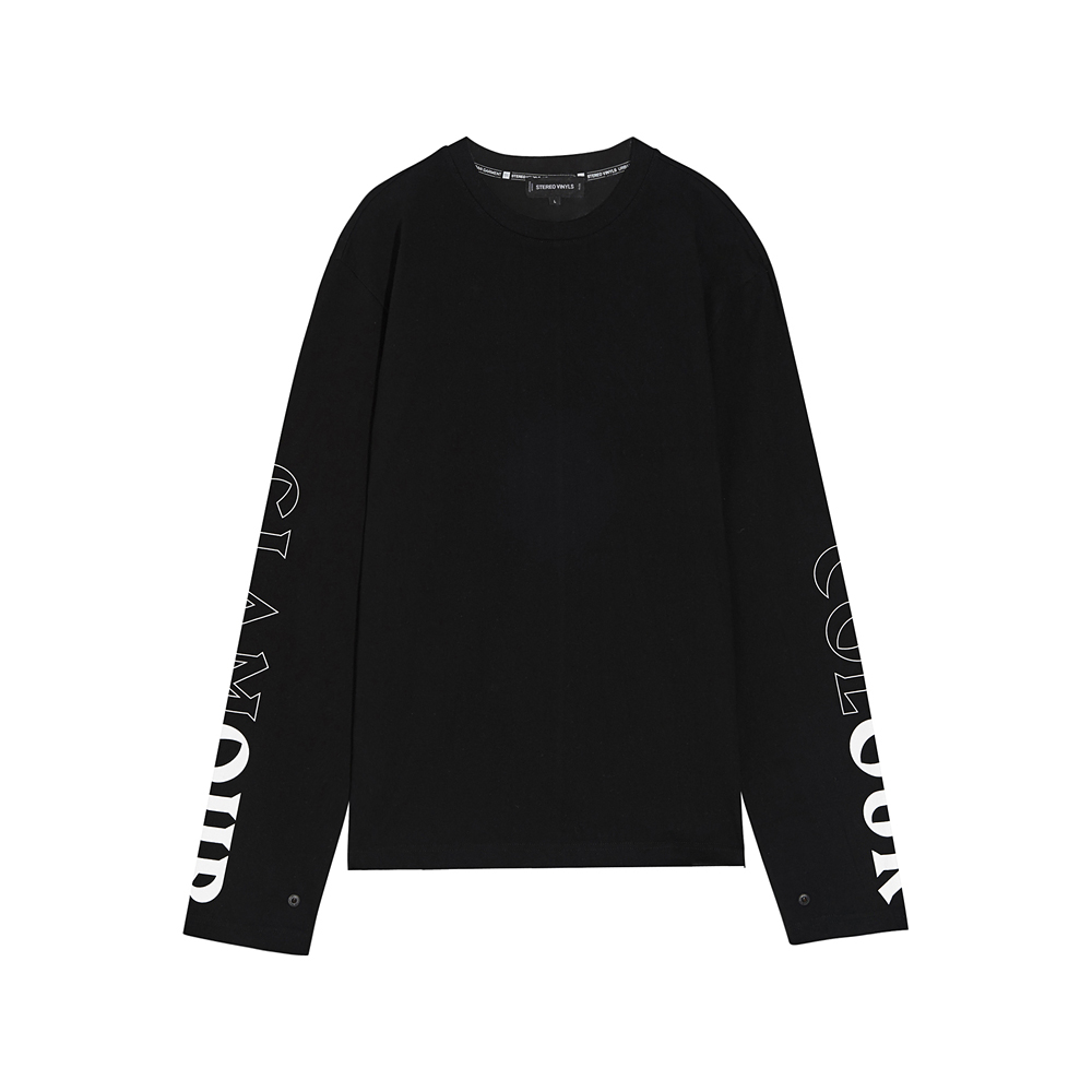 [SS17 Colour] OUR Long Sleeve(Black) 스테레오 바이널즈
