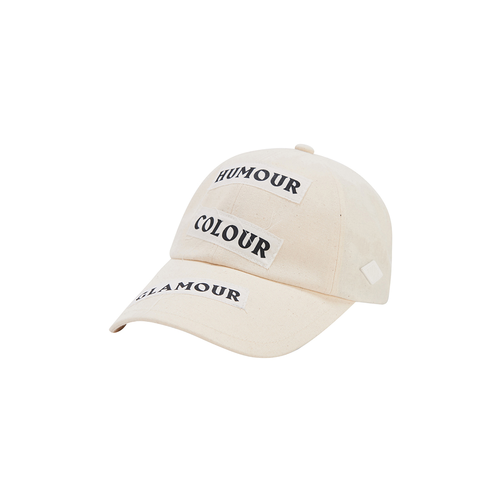 [SS17 Colour] Our Typography 6P Cap(Ivory) 스테레오 바이널즈