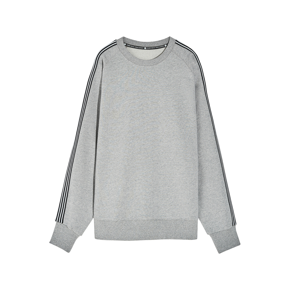 [SS17 Colour] Raglan Tape Sweatshirt(Grey) 스테레오 바이널즈
