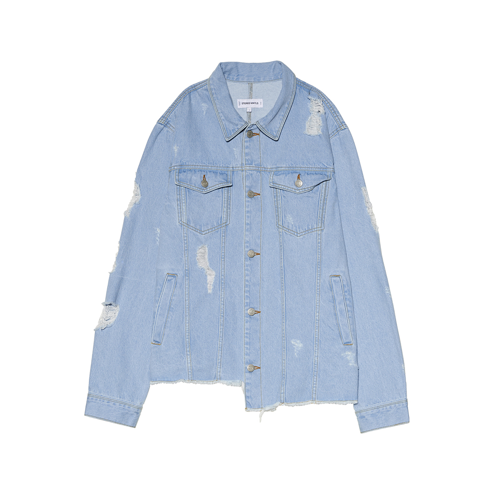 [SS17 Colour] Trucker Denim Jacket(Blue) 스테레오 바이널즈