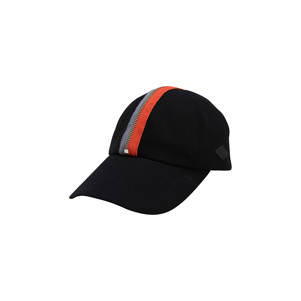 [SS17 Colour] Zip Base Ball Cap(Black) 스테레오 바이널즈