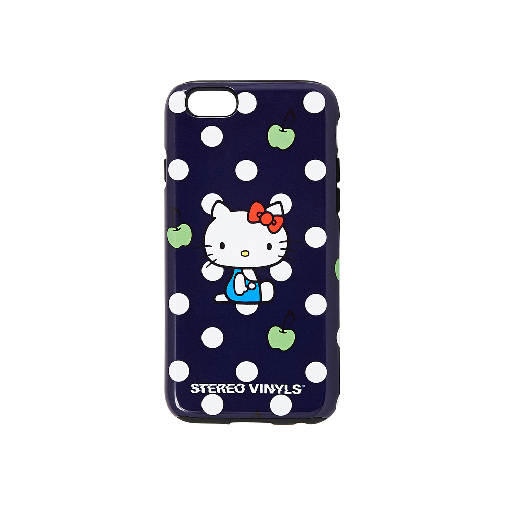 [Hello Kitty] Polka Dot iPhone 6/6S Case(Navy) 스테레오 바이널즈