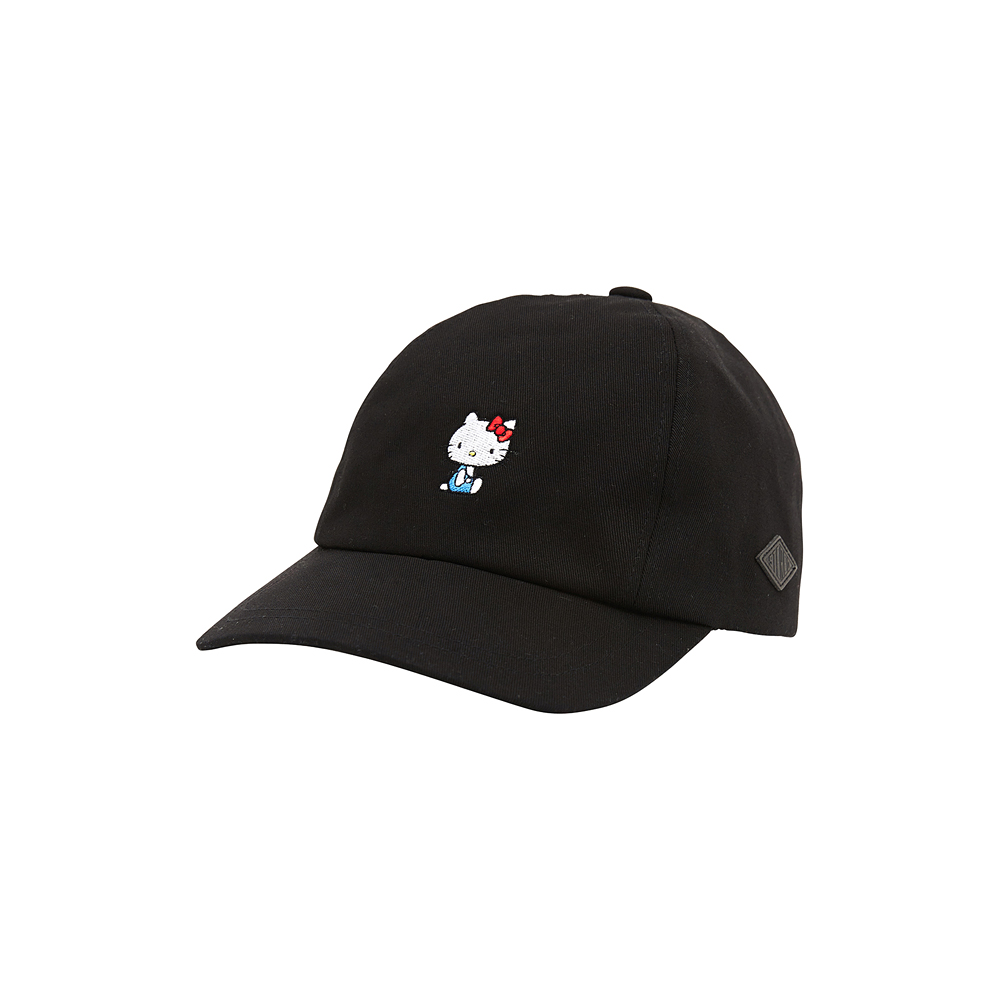 [Hello Kitty] Ribbon 4P Yacht Cap(Black) 스테레오 바이널즈