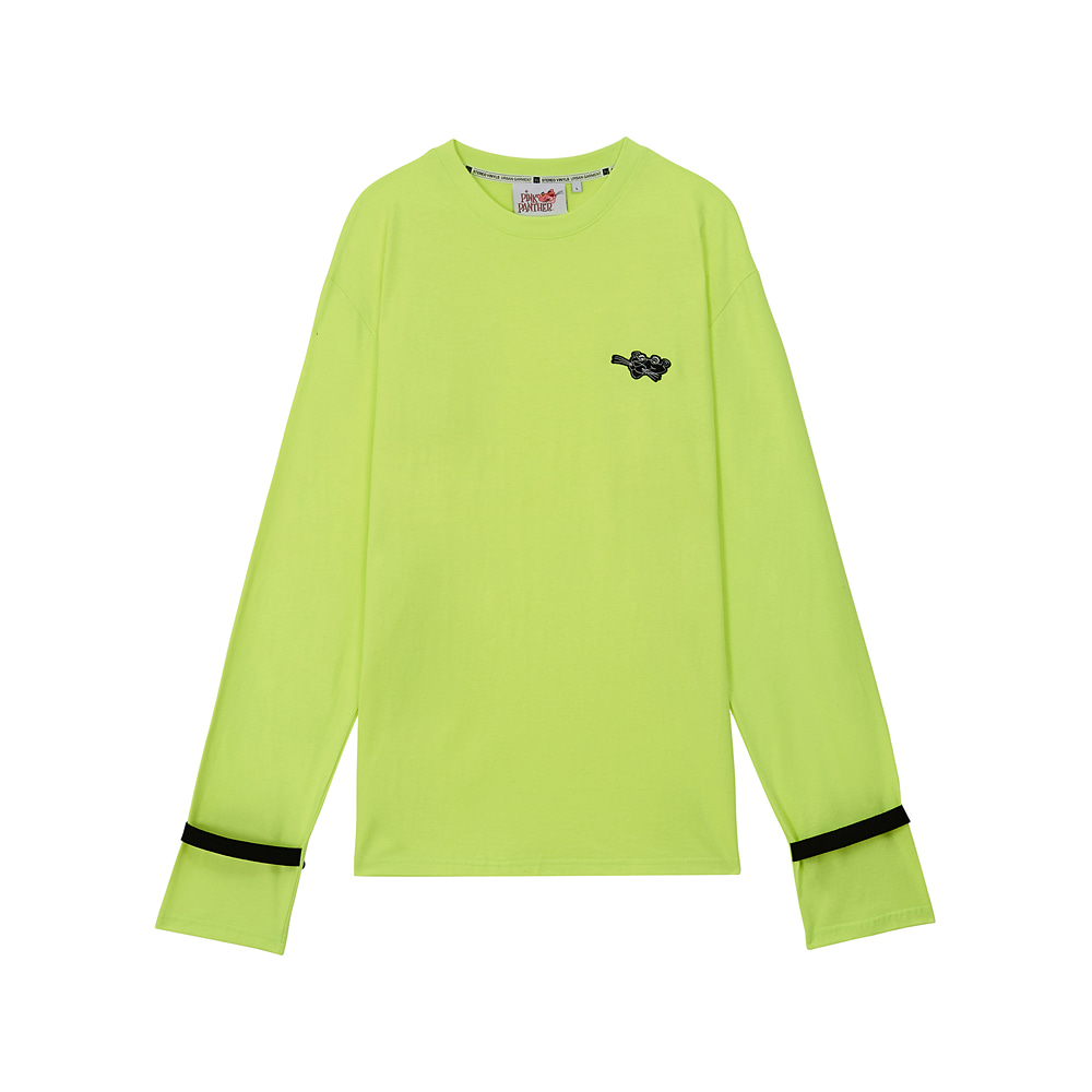 [AW17 Pink Panther] Long Sleeve(Green) 스테레오 바이널즈