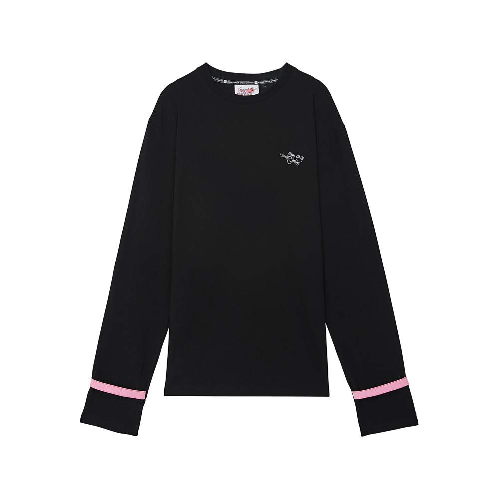 [AW17 Pink Panther] Long Sleeve(Black) 스테레오 바이널즈[AW17 Pink Panther] Long Sleeve(Black)