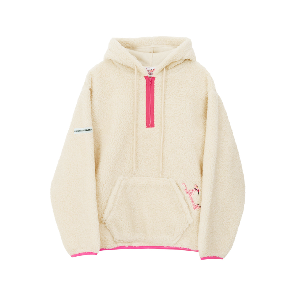 [AW17 Pink Panther] Boa Hoody(Beige) 스테레오 바이널즈