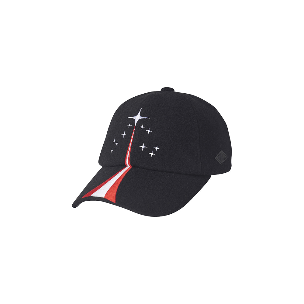 [AW17 ISA] Constellation 6P Cap(Black) 스테레오 바이널즈