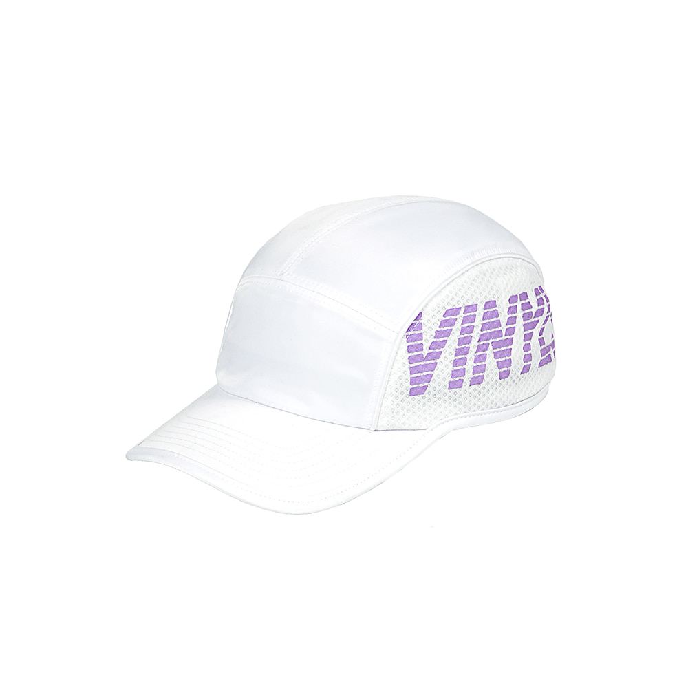 [SS18 ISA] Mesh Panel Camp Cap(White) 스테레오 바이널즈