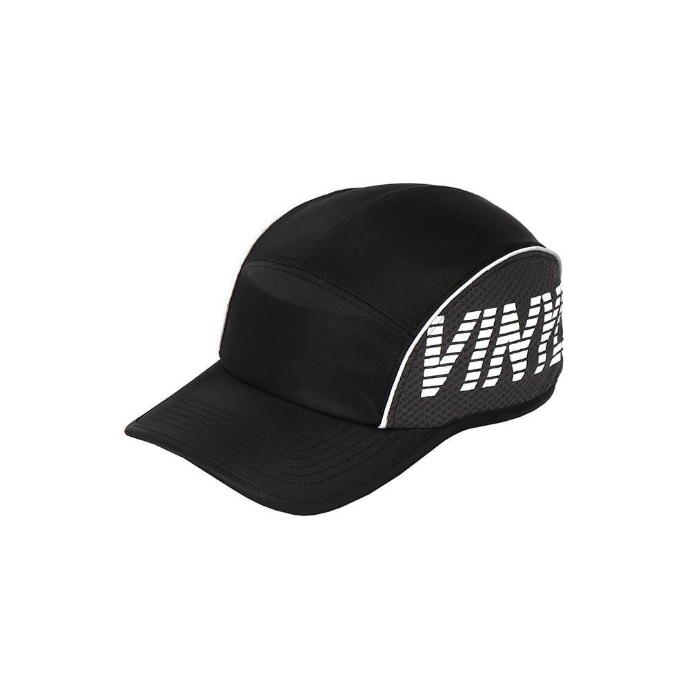 [SS18 ISA] Mesh Panel Camp Cap(Black) 스테레오 바이널즈