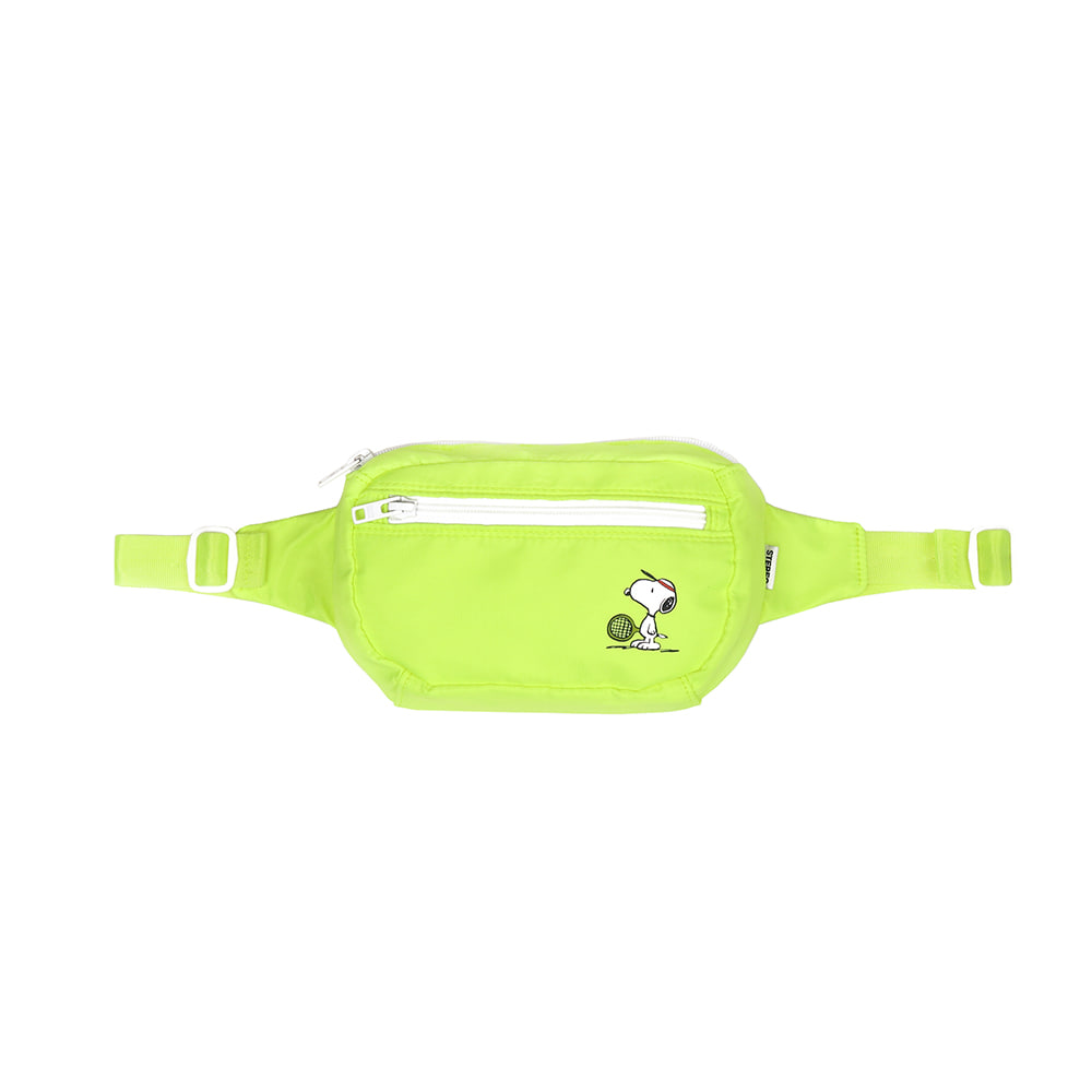 [SM18 Peanuts] Waist Bag(Green) 스테레오 바이널즈