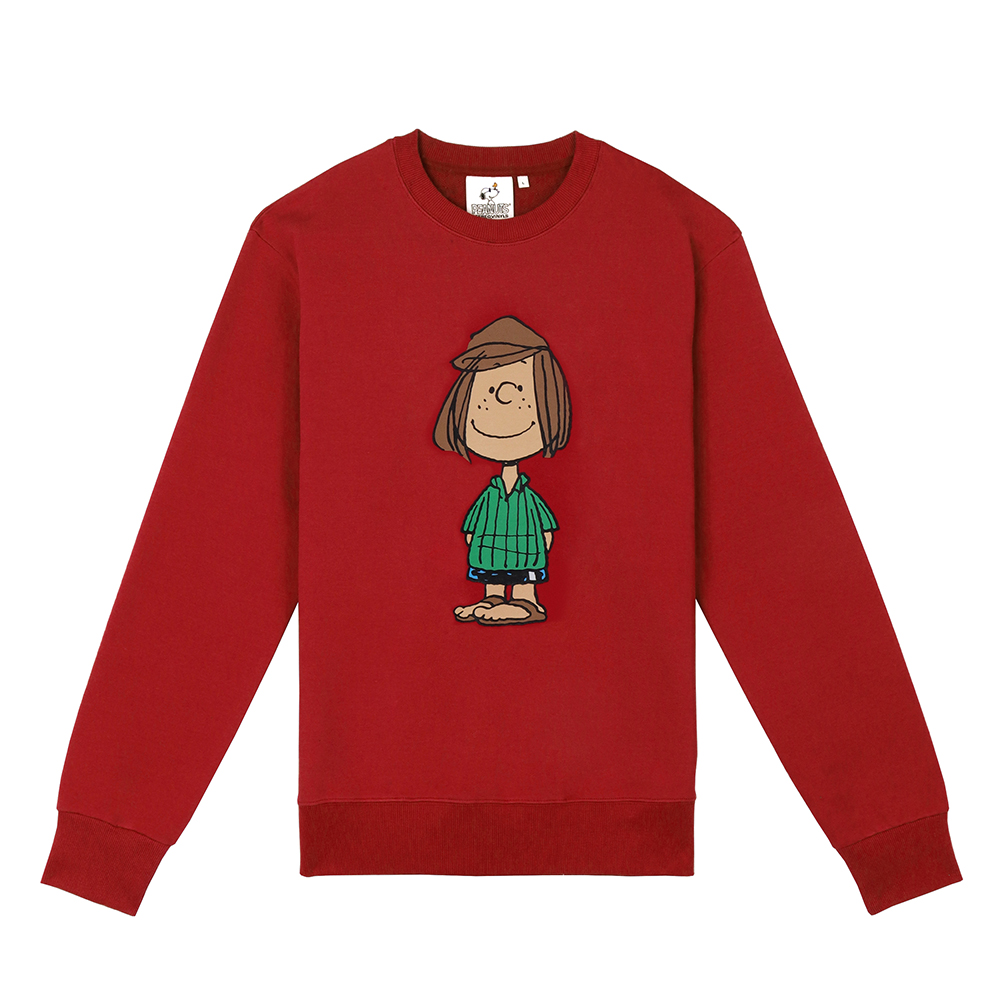 [FW18 Peanuts] Original Sweatshirts(Red) 스테레오 바이널즈