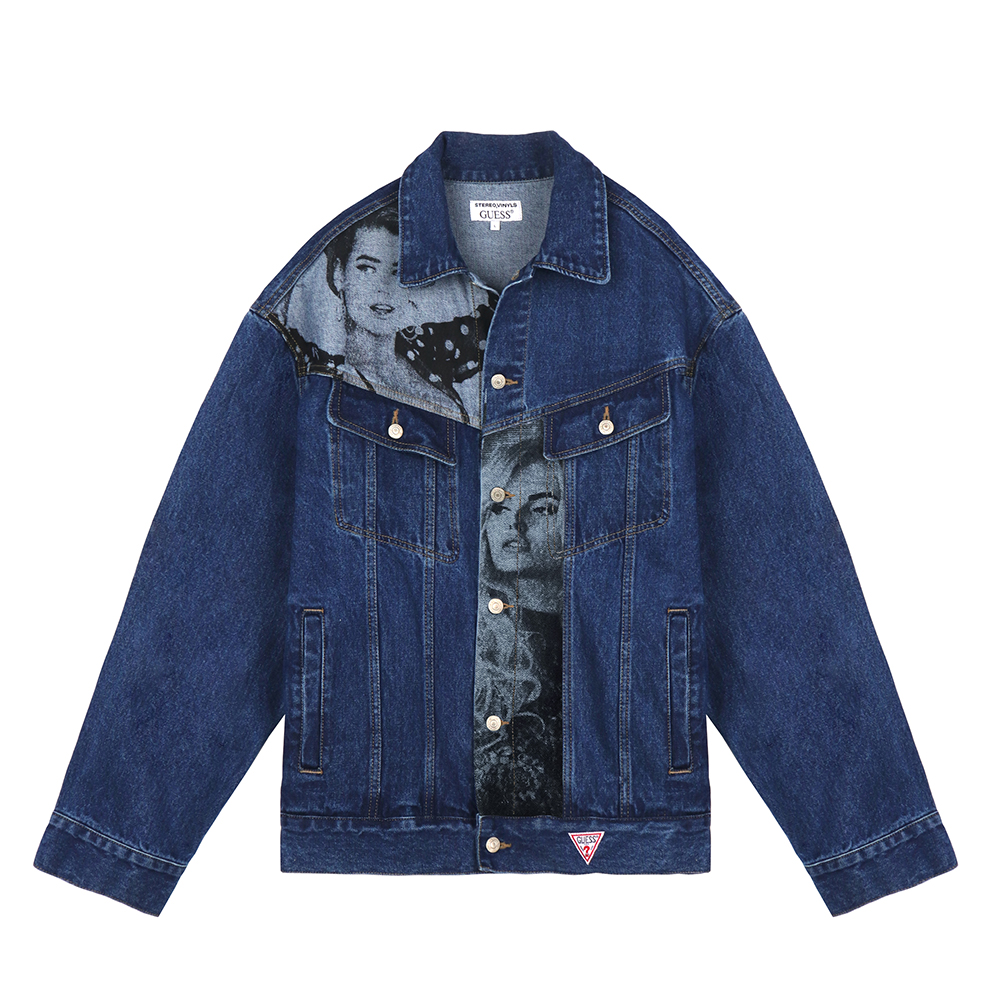 [18FW STEREO X GUESS] Overfit Denim Jacket(Blue) 스테레오 바이널즈[18FW STEREO X GUESS] Overfit Denim Jacket(Blue)