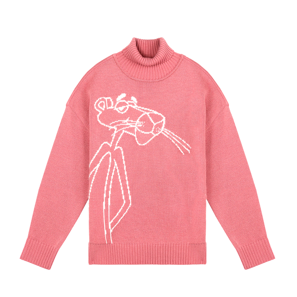 [FW18 Pink Panther] Turtleneck Knit(Pink) 스테레오 바이널즈