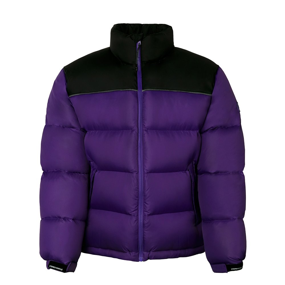 [FW18 SCS] Stereo Basic Goose Down Parka(Purple) 스테레오 바이널즈