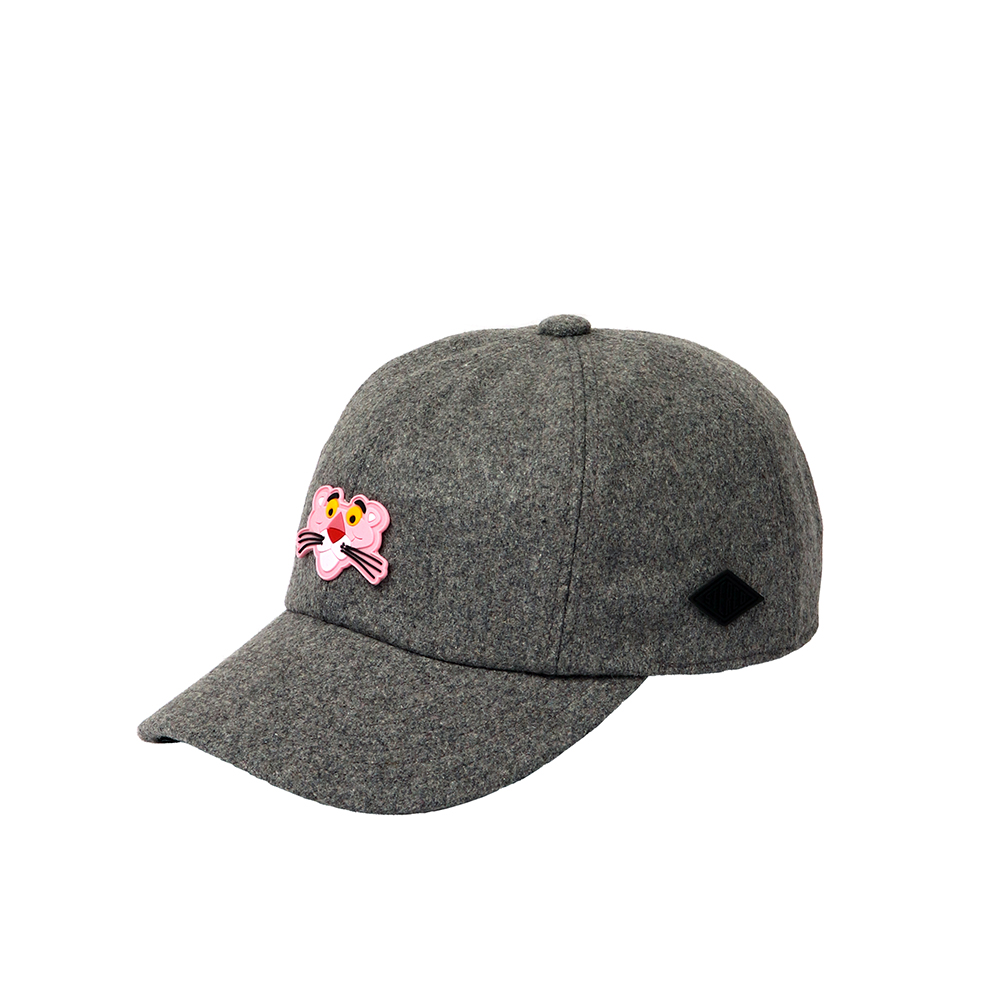 [FW18 Pink Panther] PP Face Wool Cap(Melange Grey) 스테레오 바이널즈[FW18 Pink Panther] PP Face Wool Cap(Melange Grey)