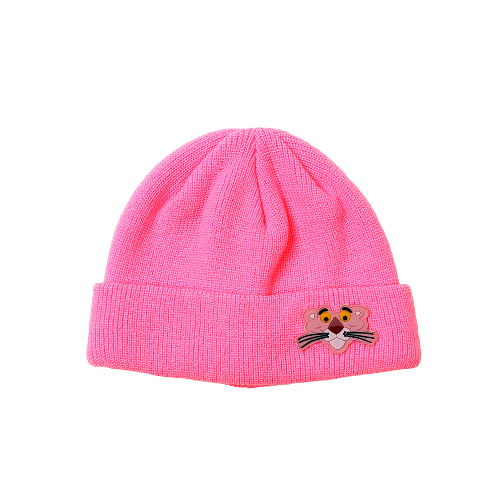 [FW18 Pink Panther] PP Face Beanie(Pink) 스테레오 바이널즈