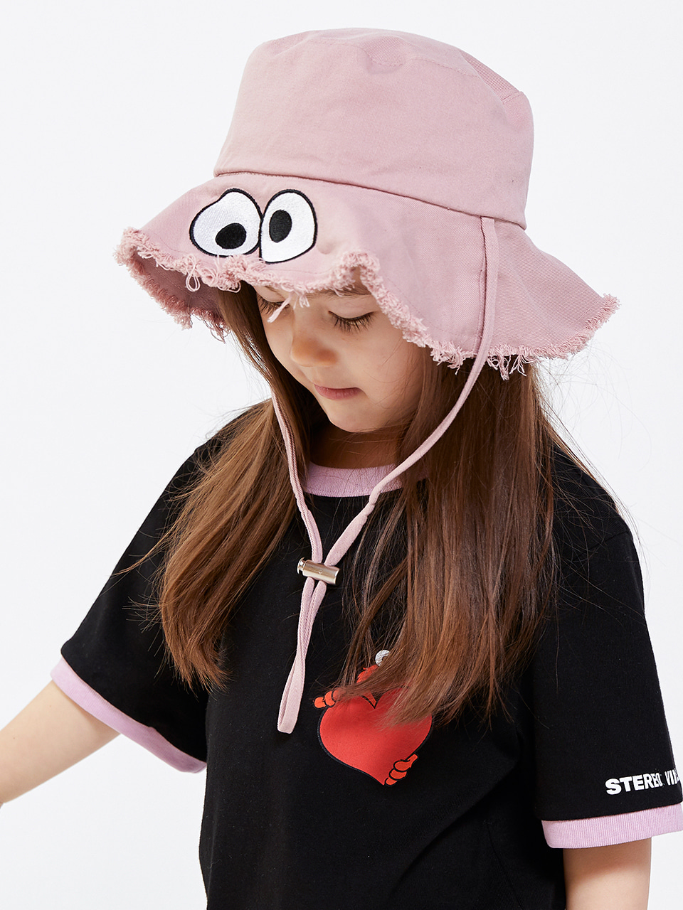 [SM20 SV X Sesame Street] Hat for Kids(Pink) 스테레오 바이널즈[SM20 SV X Sesame Street] Hat for Kids(Pink)