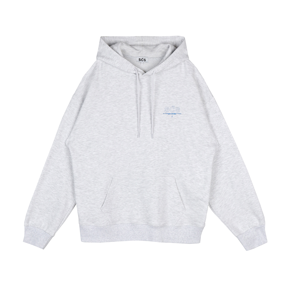 스테레오 바이널즈 - [SS20 SCS] OG Logo Hood Pullover(Light Grey)