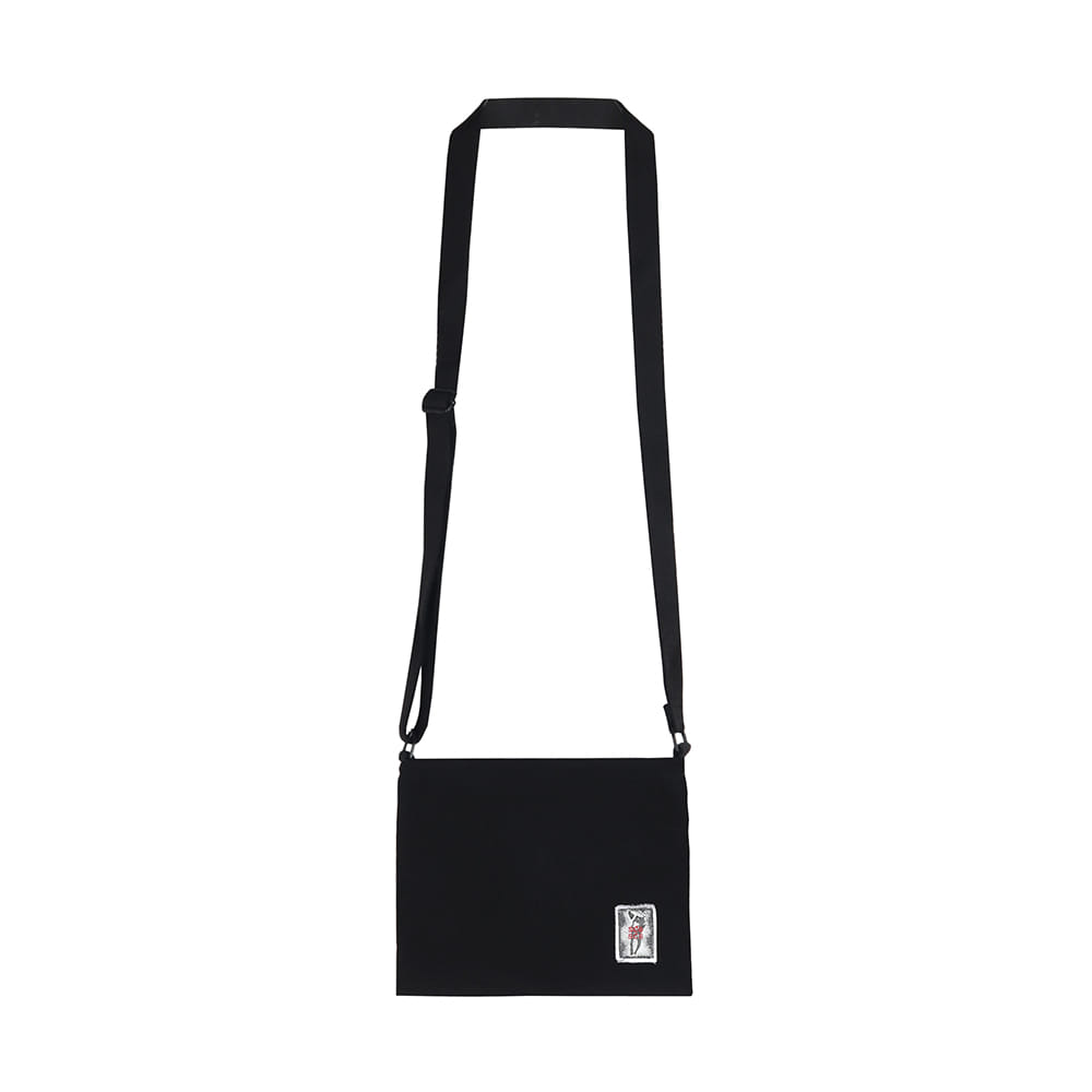 스테레오 바이널즈 - [SS20 SCS] Creased Shoulder Bag(Black)