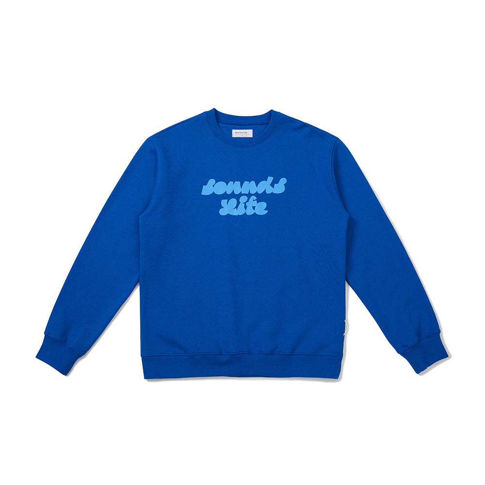 [FW20 Sounds Life] Sounds Life Sweatshirt(Blue) 스테레오 바이널즈[FW20 Sounds Life] Sounds Life Sweatshirt(Blue)
