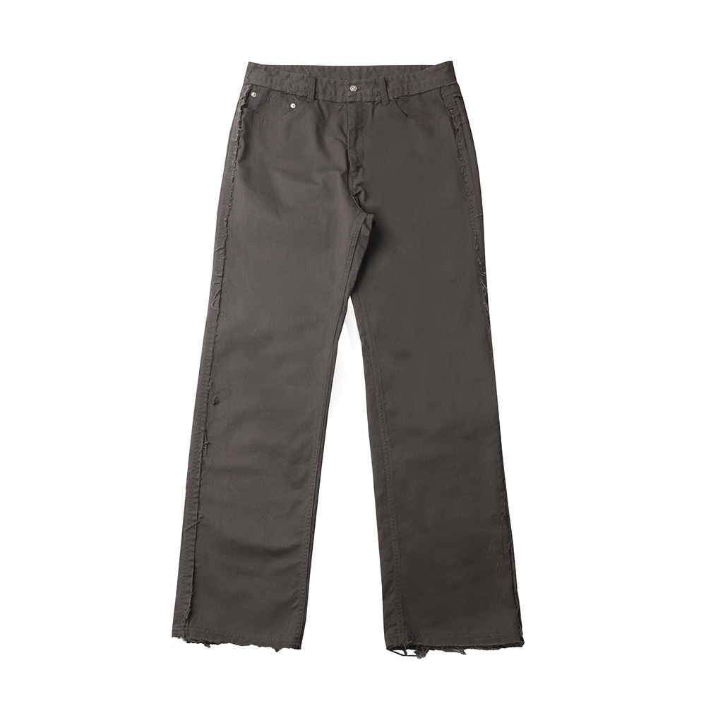 스테레오 바이널즈 - [SS20 SCS] Chino Work Pants(Charcoal)