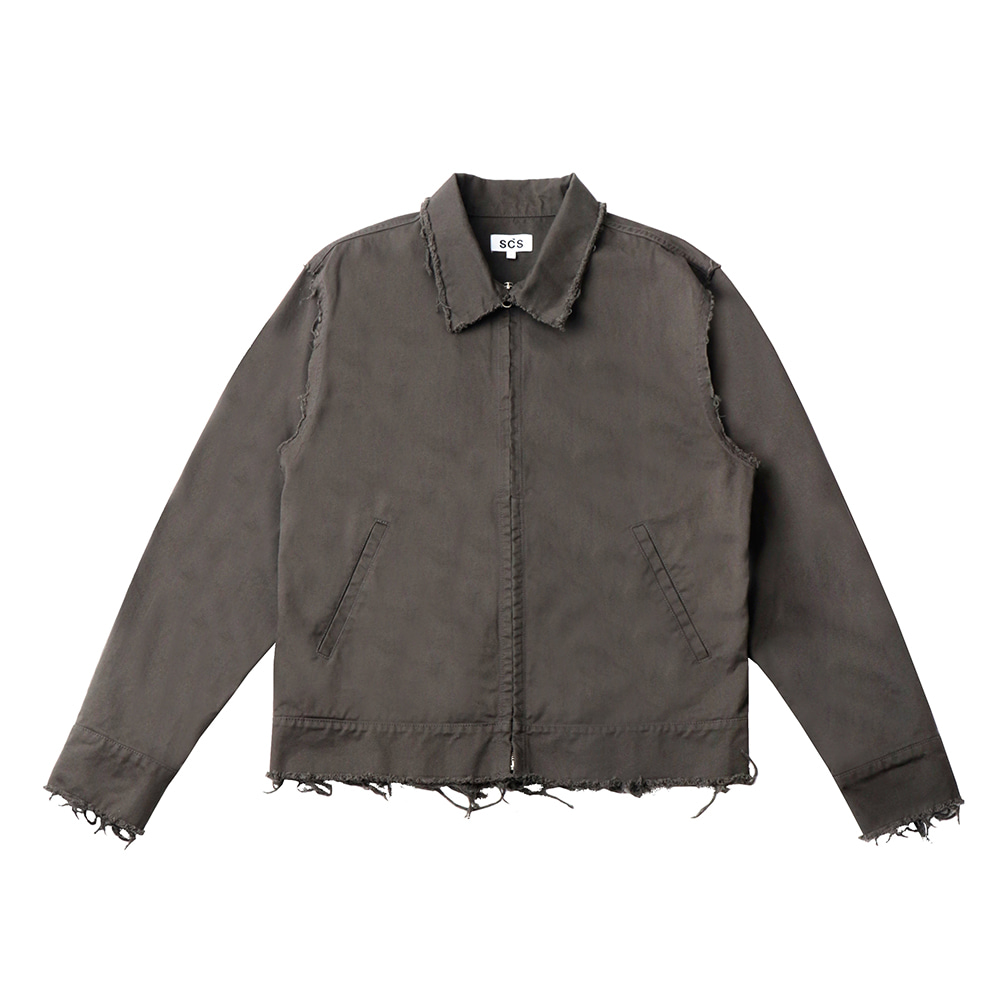 스테레오 바이널즈 - [SS20 SCS] Work Jacket(Charcoal)