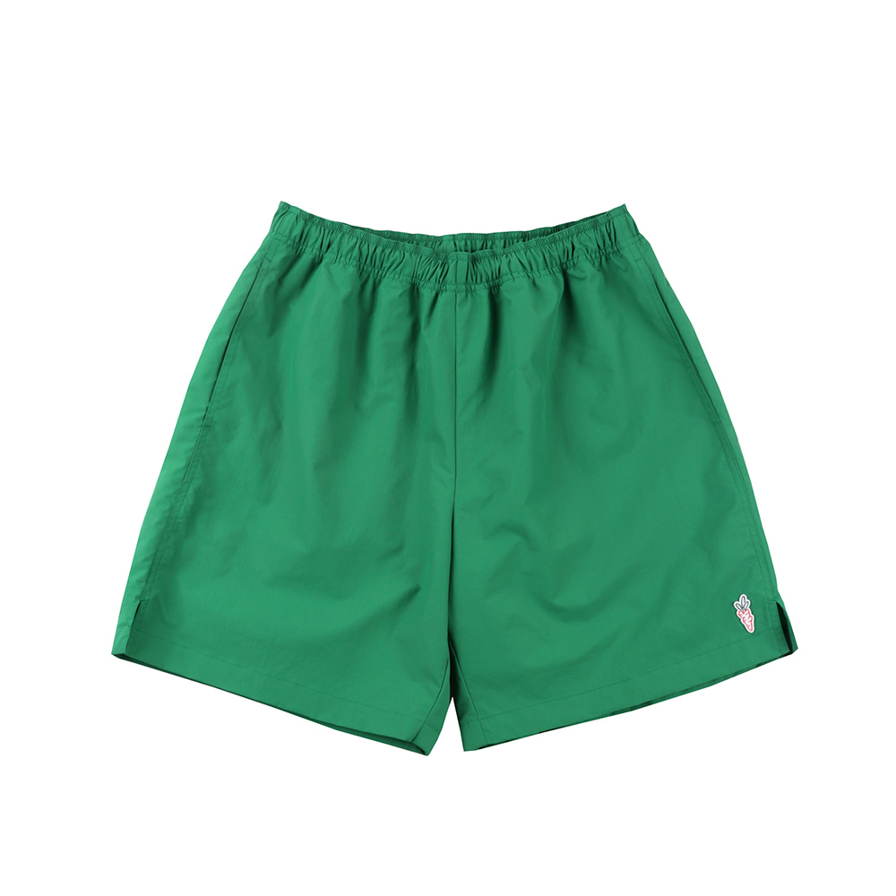 스테레오 바이널즈 - [SS20 SV X Carrots] Carrots Logo Short Pants(Green)