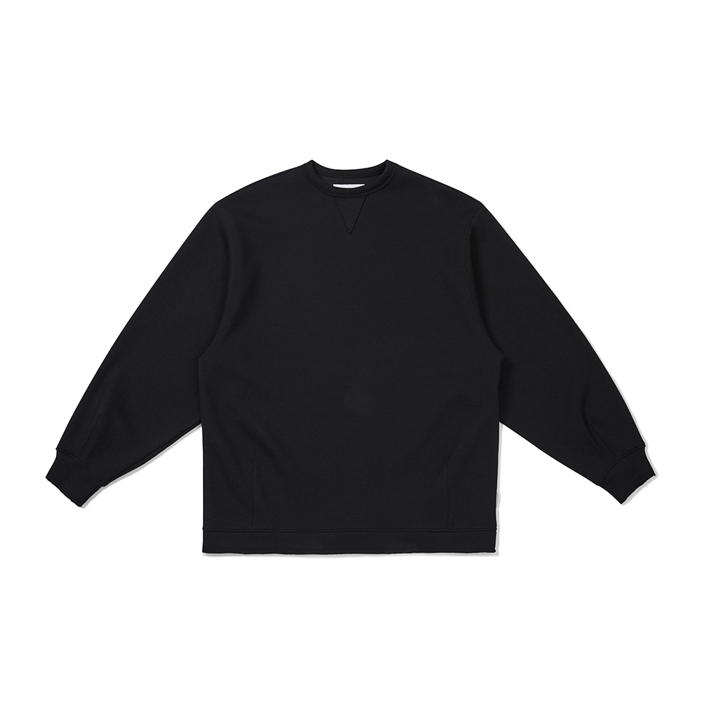 [FW20 Sounds Life] Cut & Tucked Sweatshirt(Black) 스테레오 바이널즈[FW20 Sounds Life] Cut & Tucked Sweatshirt(Black)